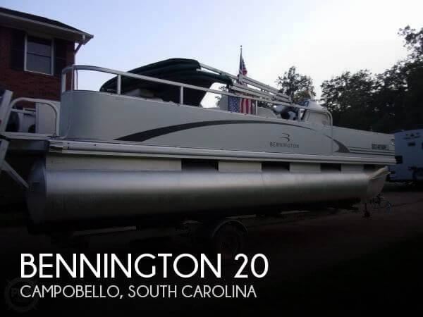 Used Pontoon Boats For Sale in South Carolina by owner | 2004 Bennington 20