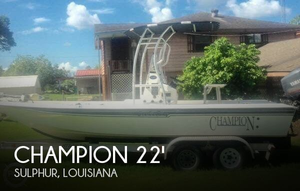 Used Champion Boats For Sale by owner   2002 Champion 22
