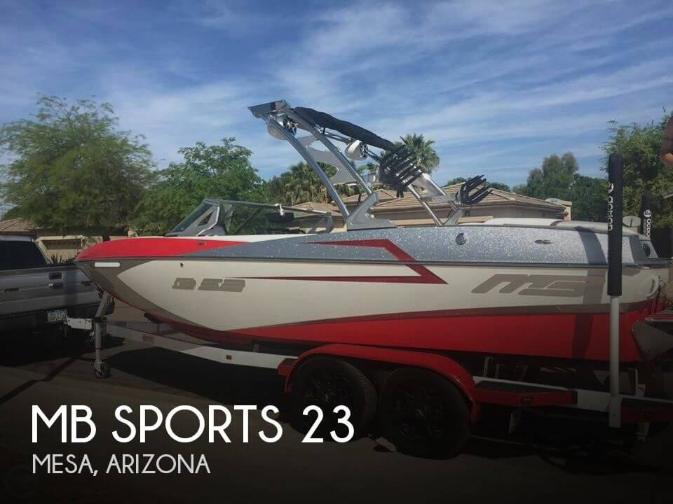 Used MB Sports Boats For Sale by owner | 2015 MB Sports 23