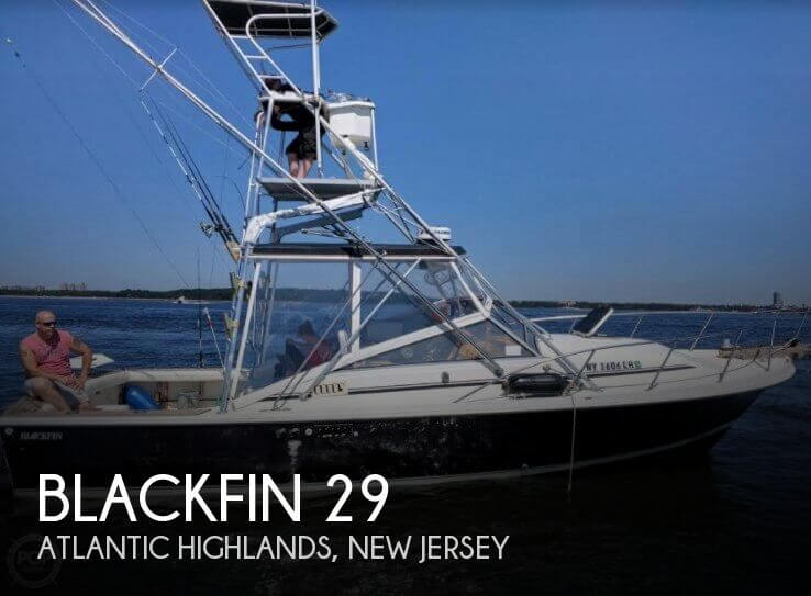 Used Blackfin Boats For Sale by owner   1988 Blackfin 29