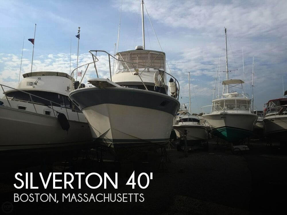 Used Silverton Fishing boats For Sale by owner   1987 Silverton 40