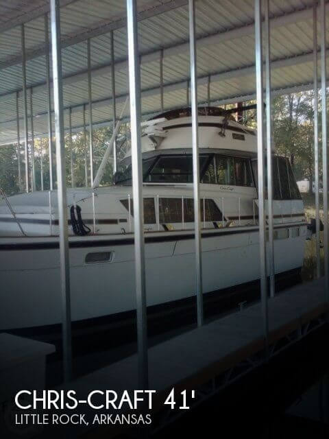 Used Boats For Sale in Little Rock, Arkansas by owner | 1976 Chris-Craft 41