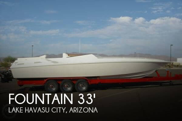 fountain 33 lightning new and used boats for sale