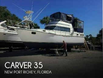 Used Carver Boats For Sale in Florida by owner | 1983 Carver 35