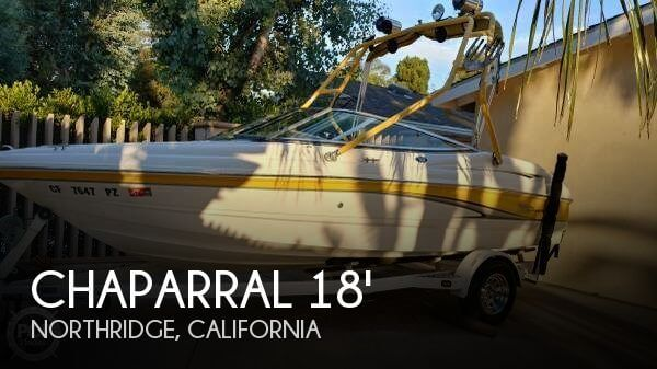 Used Chaparral Boats For Sale in California by owner | 2003 Chaparral 18