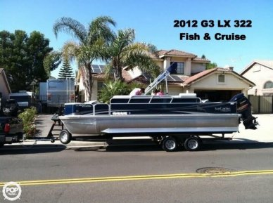G3 Suncatcher LX 322 Fish & Cruise, 23', for sale - $44,500