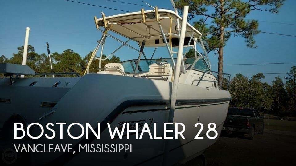 Used Boston Whaler Boats For Sale in Mississippi by owner | 2000 Boston Whaler 28