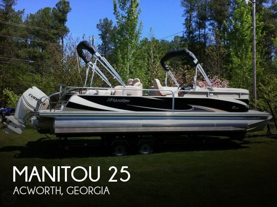 Used Pontoon Boats For Sale in Georgia by owner | 2011 Manitou 25