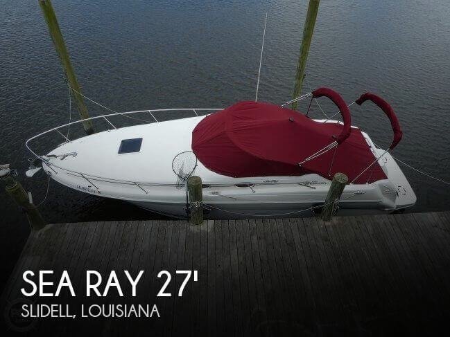 Used Sea Ray 27 Boats For Sale by owner | 2001 Sea Ray 27