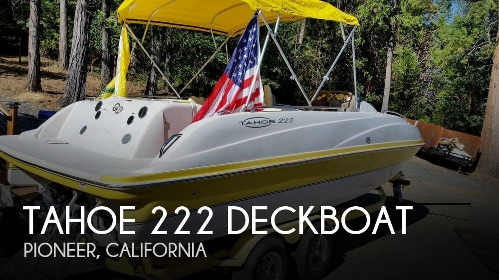 Used Tahoe Deck Boats For Sale by owner | 2005 Tahoe 21