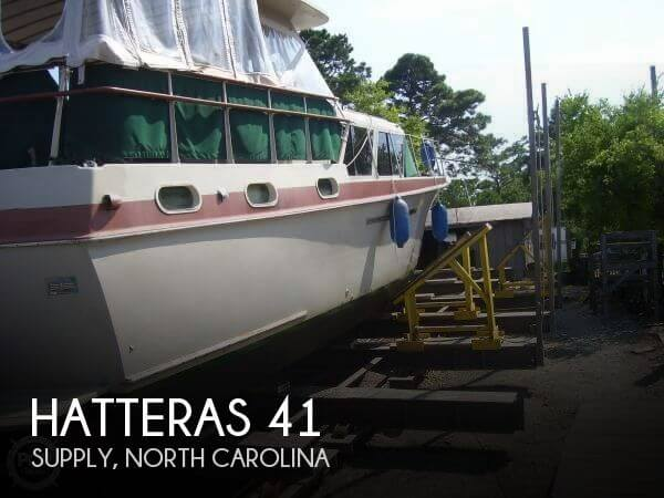 Used Motoryachts For Sale in North Carolina by owner | 1963 Hatteras 41