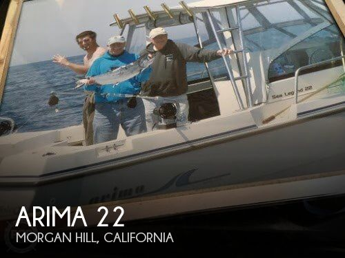 Used Boats For Sale in Santa Cruz, California by owner | 1999 Arima 22