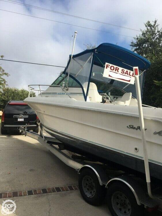 1993 Sea Ray boat for sale, model of the boat is Laguna 24 & Image # 2 of 41