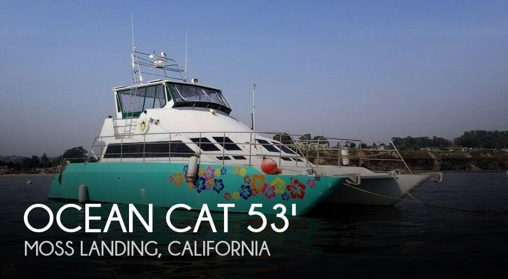 Used Boats For Sale in Santa Cruz, California by owner | 1996 Ocean Cat 53