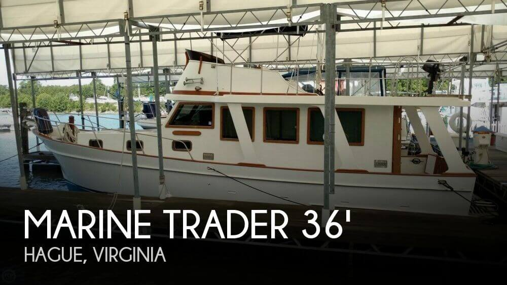 Used Marine Trader Boats For Sale by owner   1979 Marine Trader 36