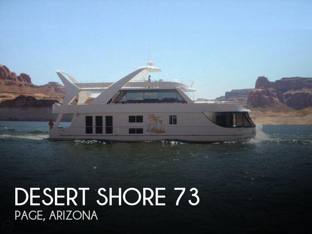 Used Boats For Sale by owner | 2005 Desert Shore 73