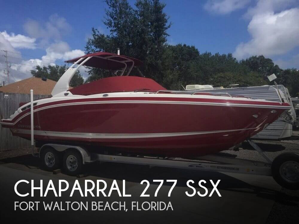 Used Boats For Sale in Pensacola, Florida by owner | 2016 Chaparral 277 Ssx