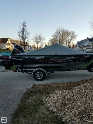 Crestliner 1750 Raptor, 17', for sale - $36,300