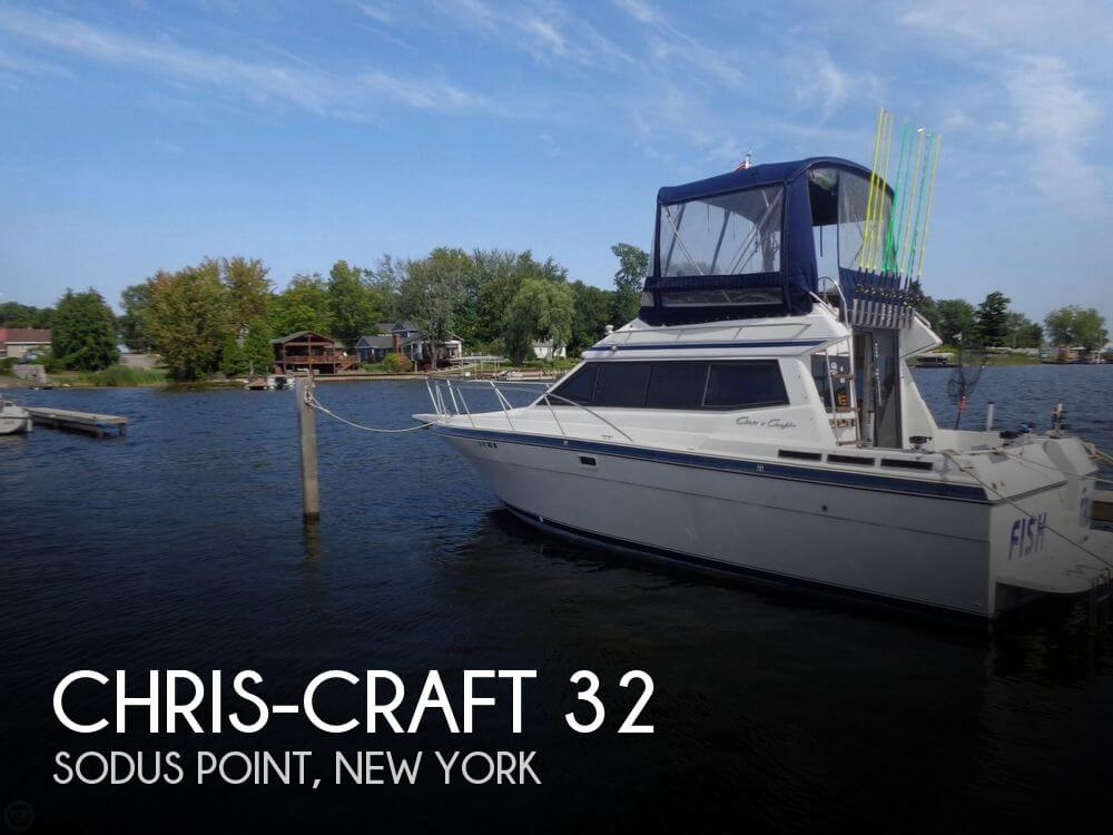 Used Chris-Craft Boats For Sale in New York by owner | 1990 Chris-Craft 32