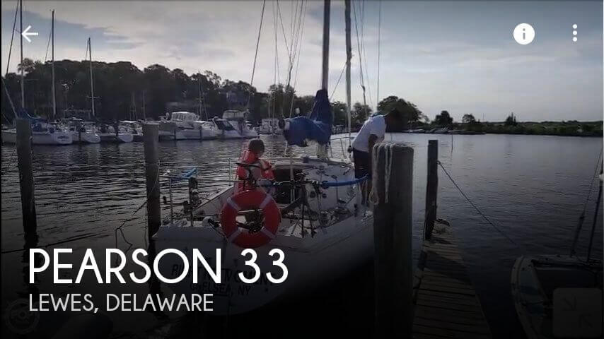 Used Pearson Boats For Sale by owner | 1977 Pearson 33