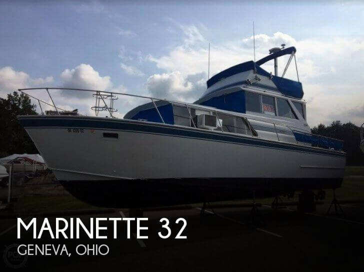 Used Marinette Boats For Sale by owner | 1975 Marinette 32