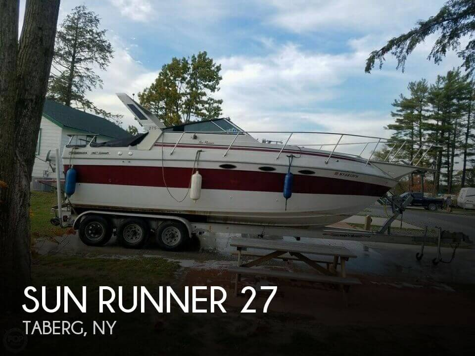 Used Sun runner Boats For Sale by owner | 1986 Sun Runner 27