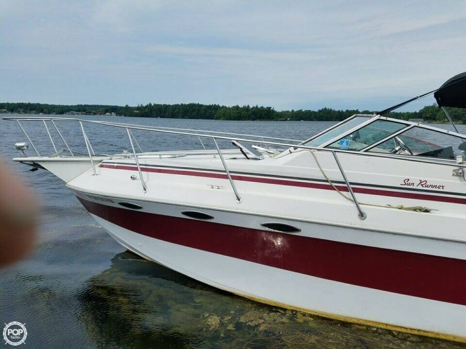 1986 Sun Runner boat for sale, model of the boat is 275 SB & Image # 6 of 11