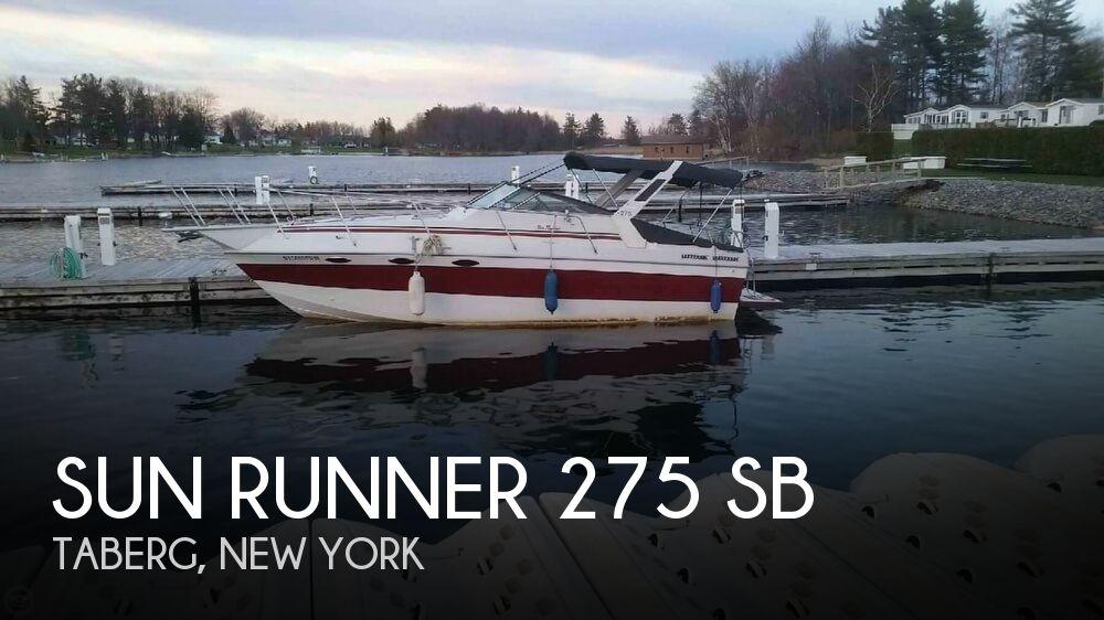 1986 SUN RUNNER 275 SB for sale
