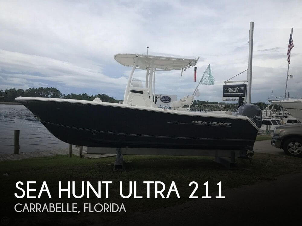 Used Boats For Sale in Tallahassee, Florida by owner | 2012 Sea Hunt Ultra 211