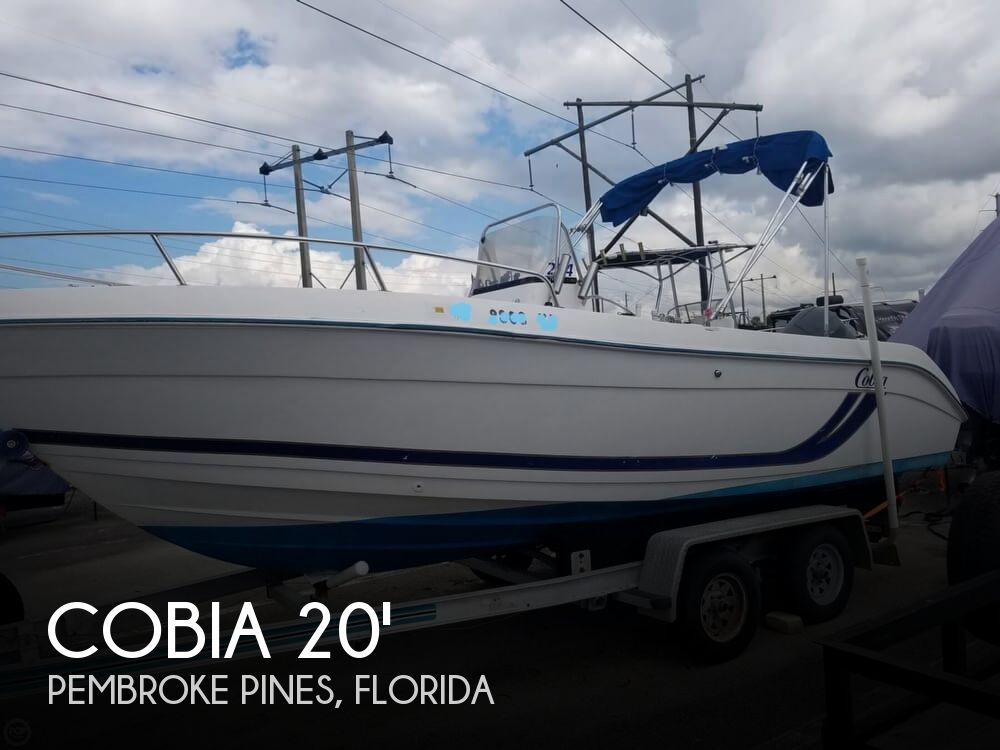 1999 COBIA 204 CENTER CONSOLE for sale