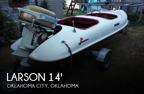 Used Boats For Sale in Oklahoma by owner | 1956 Larson 14