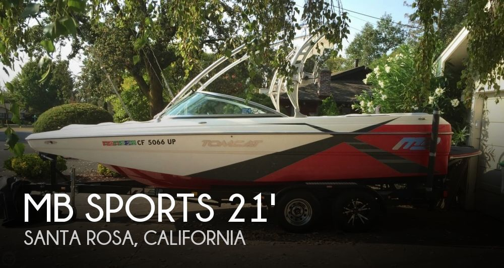 Used MB Sports Boats For Sale by owner | 2012 MB Sports 21
