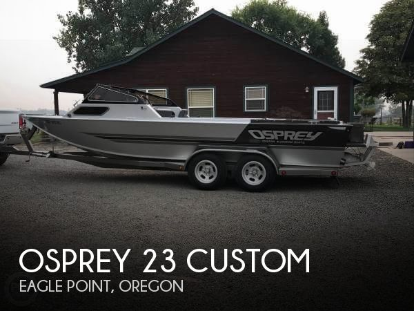 Used Boats For Sale in Medford, Oregon by owner | 1988 Osprey 23