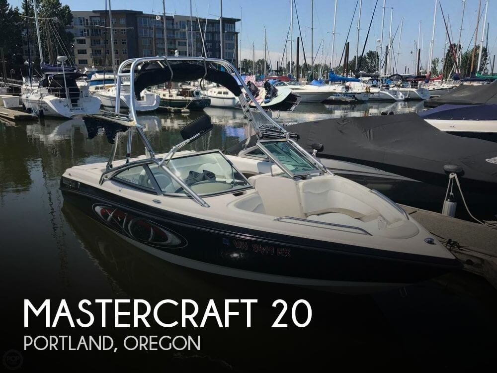 Used Boats For Sale in Portland, Oregon by owner | 2001 Mastercraft 20
