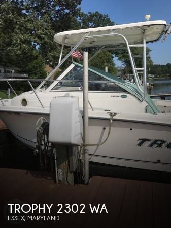 Used Ski Boats For Sale in Maryland by owner   2007 Trophy 22