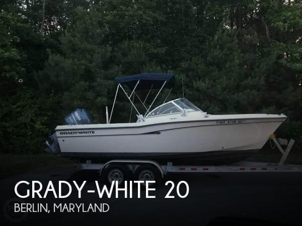 Used Ski Boats For Sale in Maryland by owner   2005 Grady-White 20