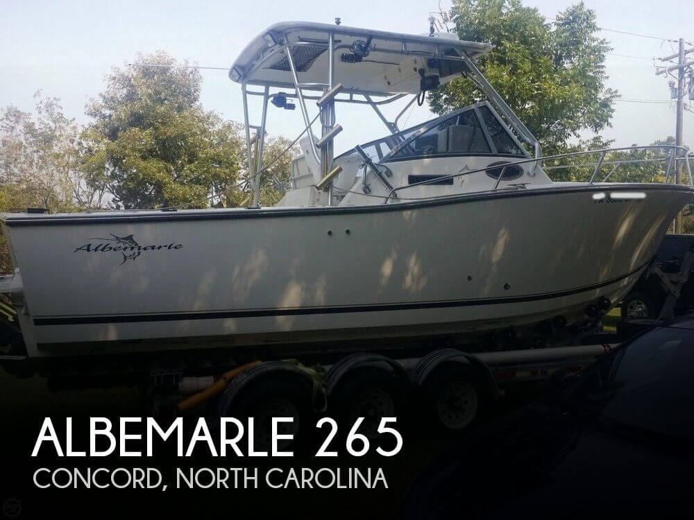 Used Boats For Sale in Greensboro, North Carolina by owner | 2000 Albemarle 26