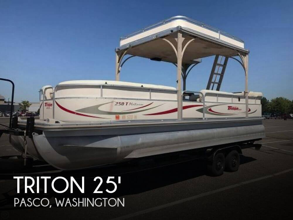 Used Boats For Sale in Kennewick, Washington by owner   2006 Triton 25