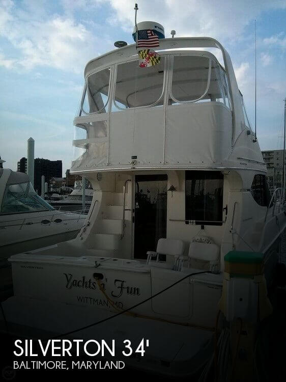 Used Motoryachts For Sale in Maryland by owner | 2004 Silverton 34