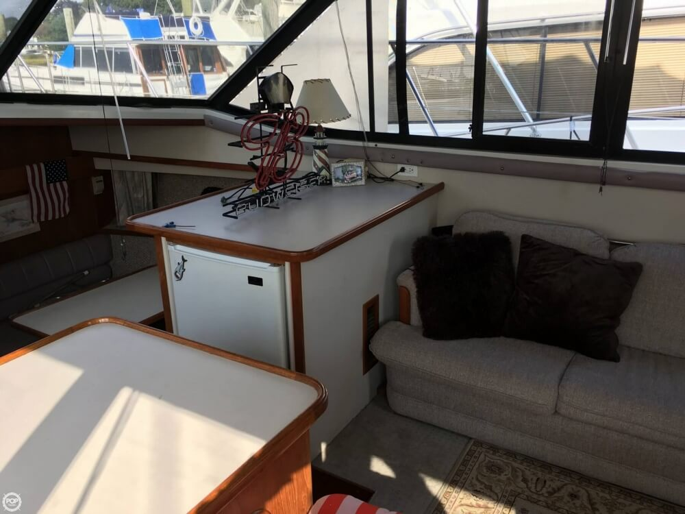 1988 Carver boat for sale, model of the boat is 3807 AC & Image # 35 of 40