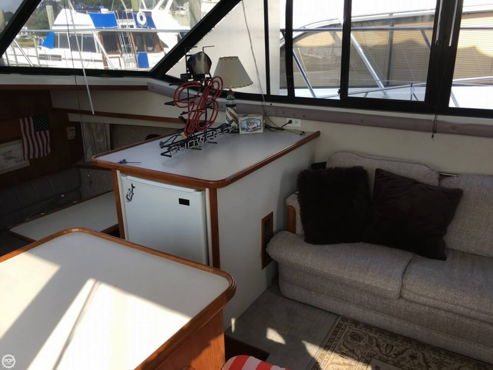 1988 Carver boat for sale, model of the boat is 3807 AC & Image # 36 of 40