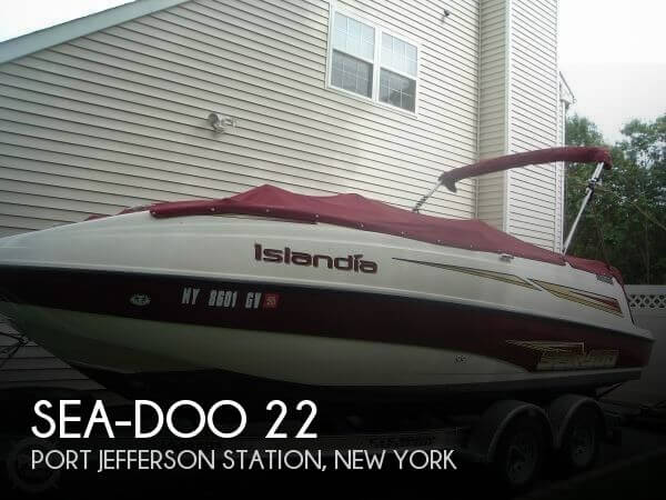 Used Deck Boats For Sale in New York by owner | 2003 Sea-Doo 22