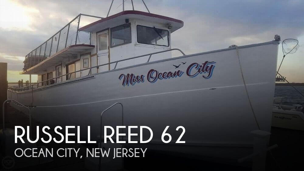Used Boats For Sale in Atlantic City, New Jersey by owner | 1978 Russell Reed 62