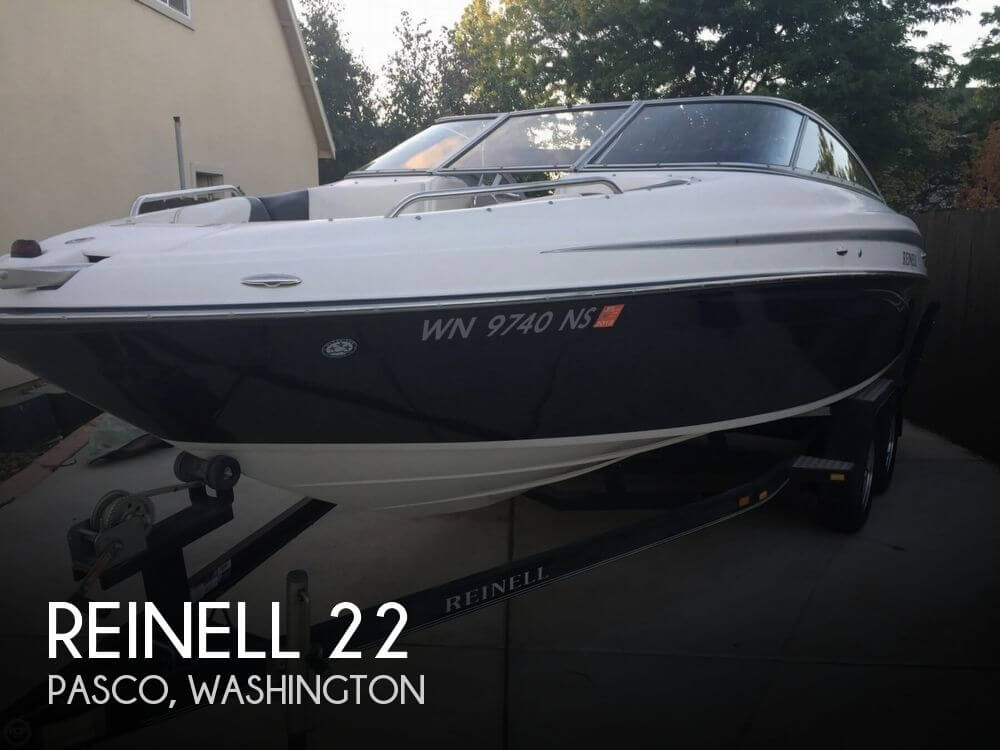 Used Boats For Sale in Kennewick, Washington by owner   2006 Reinell 22