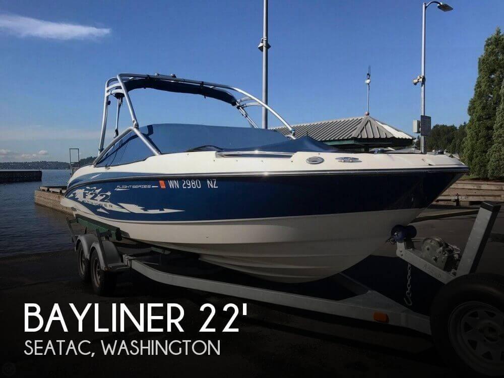 Used Bayliner Boats For Sale in Washington by owner | 2009 Bayliner 22