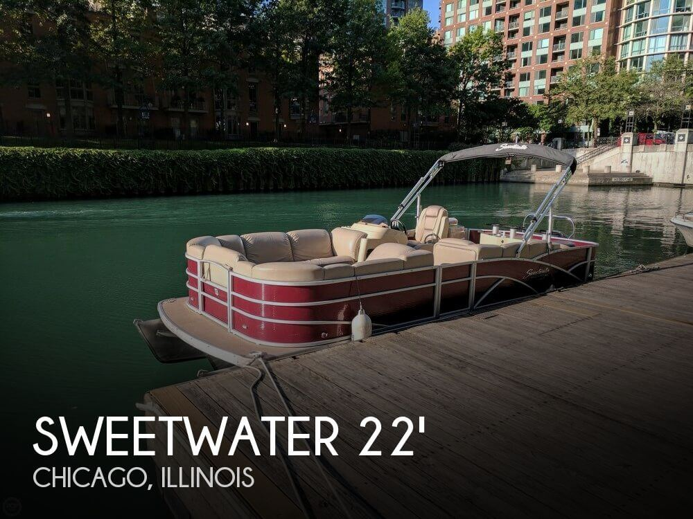 Used Sweetwater Pontoon Boats For Sale by owner | 2016 Sweetwater 22