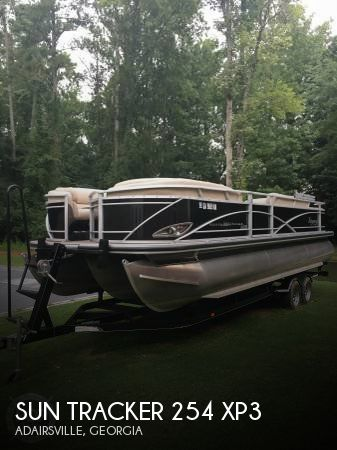 Used Pontoon Boats For Sale in Georgia by owner | 2014 Sun Tracker 27