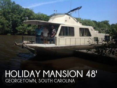 Used Holiday Mansion Houseboats For Sale by owner | 1993 Holiday Mansion 48