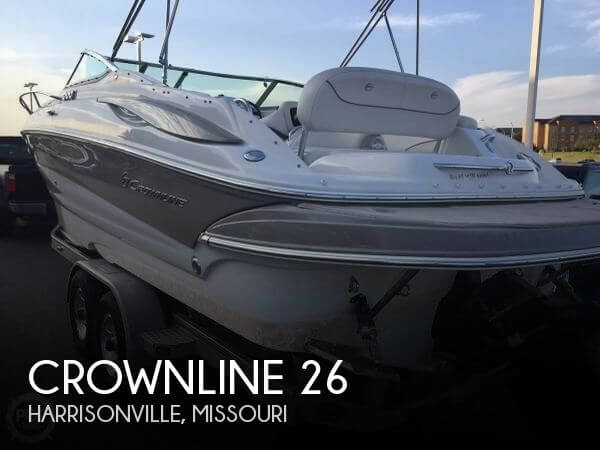 Used Boats For Sale in Kansas City, Missouri by owner | 2008 Crownline 26