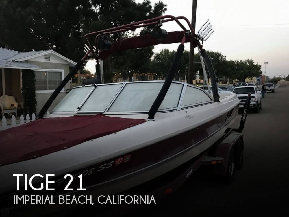 Used Boats For Sale by owner | 2000 Tige 21